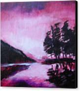 Ruby Dawn Canvas Print