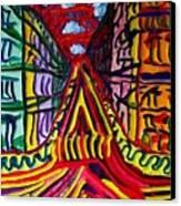 Rue De Paris Canvas Print