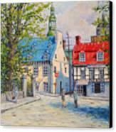 Rue Ste Anne 1965 Canvas Print