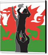 Rugby Wales Canvas Print