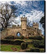 Ruins Of Warwick Canvas Print by Laura George