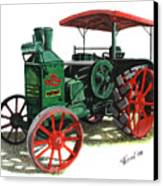 Rumely Oil Pull X Tractor Canvas Print
