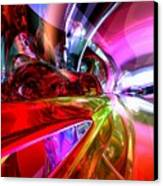 Runaway Color Abstract Canvas Print by Alexander Butler