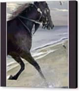 Runner Three Canvas Print by John Breen