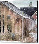 Rural Relic Canvas Print by Stephanie Calhoun