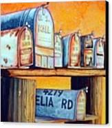 Rural Route Canvas Print