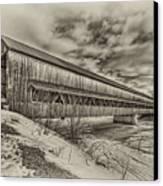 Rusagonish Covered Bridge Canvas Print