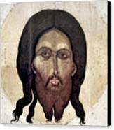 Russian Icon: The Savior Canvas Print
