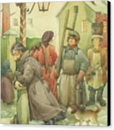 Russian Scene 06 Canvas Print