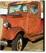 Rusty Chevrolet Pickup Truck 1934 Canvas Print by Douglas Barnett