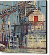 Rusty Door Canvas Print by Donald Maier