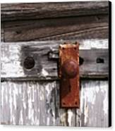 Rusty Entry Canvas Print