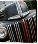 Rusty Old Ford Truck - Img4413 Canvas Print by Wingsdomain Art and Photography