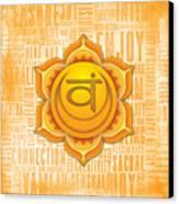 Sacral Chakra - Awareness Canvas Print