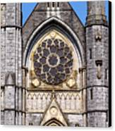 Sacred Heart Church Detail Roscommon Ireland Canvas Print