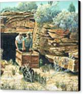 Sage Mine Canvas Print
