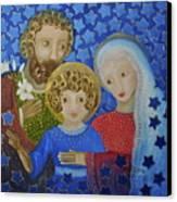 Sagrada Familia Canvas Print by Maria Matheus Maria Santeira