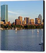 Sail Boston Canvas Print by Juergen Roth