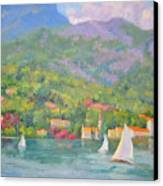 Sailing - Lake Como Canvas Print