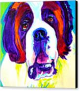 Saint Bernard -  Canvas Print