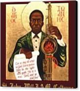 Saint John The Divine Sound Baptist Canvas Print