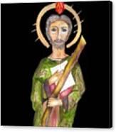Saint Jude Canvas Print by Myrna Migala