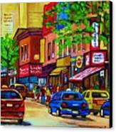 Saint Lawrence Street  Canvas Print
