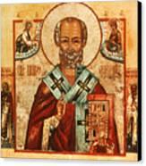 Saint Nicholas Canvas Print