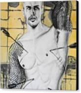 Saint Sebastian Canvas Print by Carmine Santaniello