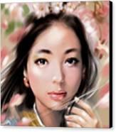 Sakuya Hime Canvas Print