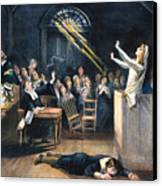 Salem Witch Trial, 1692 Canvas Print by Granger