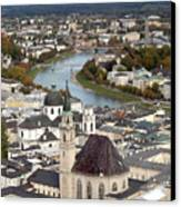 Salzburg Canvas Print by Andre Goncalves
