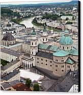 Salzburg Panoramic Canvas Print