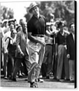 Sam Snead 1912-2002, American Golfer Canvas Print by Everett