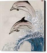 Same Rhythm Canvas Print