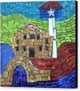 San Antonio  Canvas Print by Ann Salas