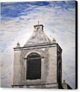 San Antonio Belltower Canvas Print by Kevin Croitz