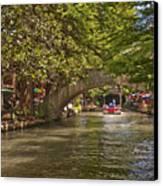 San Antonio Riverwalk Canvas Print by Steven Sparks