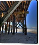 San Clemente Pier Canvas Print by Kelly Wade