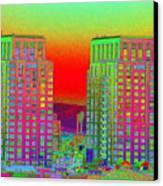 San Diego Scenic Canvas Print