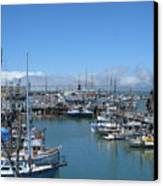 San Francisco Fishing Fleet Canvas Print