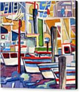 San Fransico Marina Canvas Print