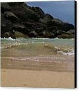 San Juan Beach 7 Canvas Print