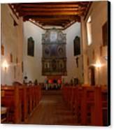 San Miguel Mission Church Canvas Print