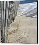 Sand And Snow Canvas Print