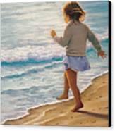 Sand Dancer Canvas Print