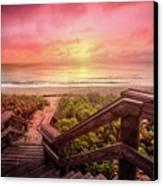 Sand Dune Morning Canvas Print