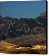 Sand Dunes - Death Valley's Gold Canvas Print