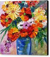 Sandy's Flowers Canvas Print
