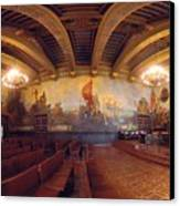 Santa Barbara Court House Mural Room Photograph Canvas Print by Brian Lockett